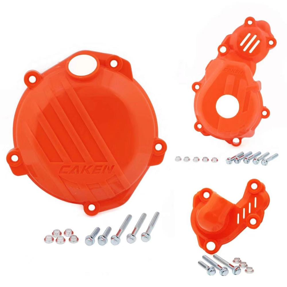 Clutch Guard Water Pump Cover Ignition Protector For KTM SX-F EXC-F <font><b>250</b></font> 350 450 SIX DAYS 4-STROKE MX Motocross <font><b>Enduro</b></font> Motorcycle image