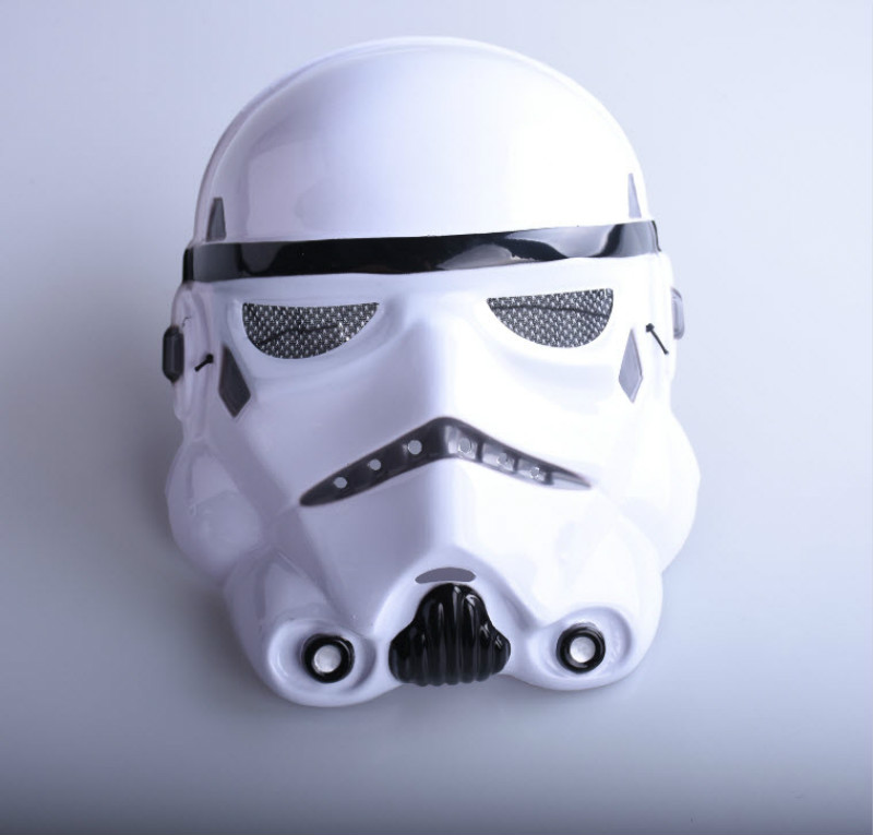 Hot Sale Star Wars Clone Trooper Cosplay Soldiers Full Face Mask For Party Games Halloween Mask Halloween Festival Kids Toy Mask image