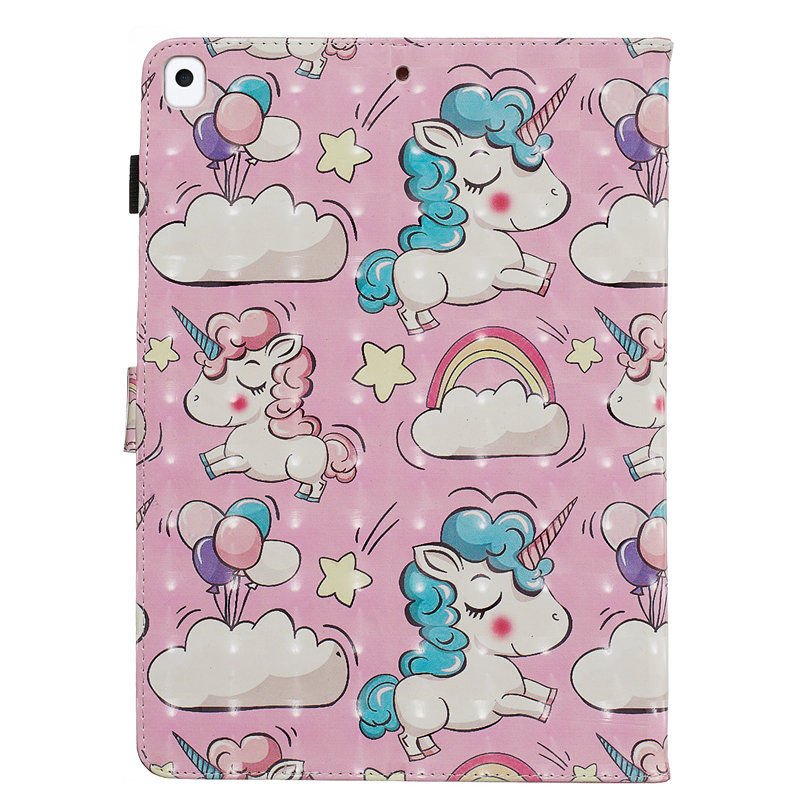for iPad 2019 Cover A2232 Funda For A2200 Apple Smart Case iPad 10.2 Skin 7th Generation