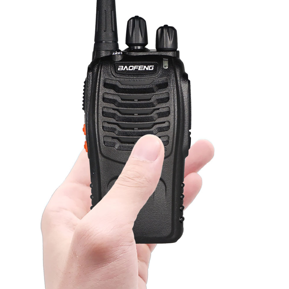 BAOFENG BF-888S Walkie Talkie UHF Two Way Radio 888s UHF 400-470MHz 16CH Portable CB Radio Wireless Radio Transmitter BF888S