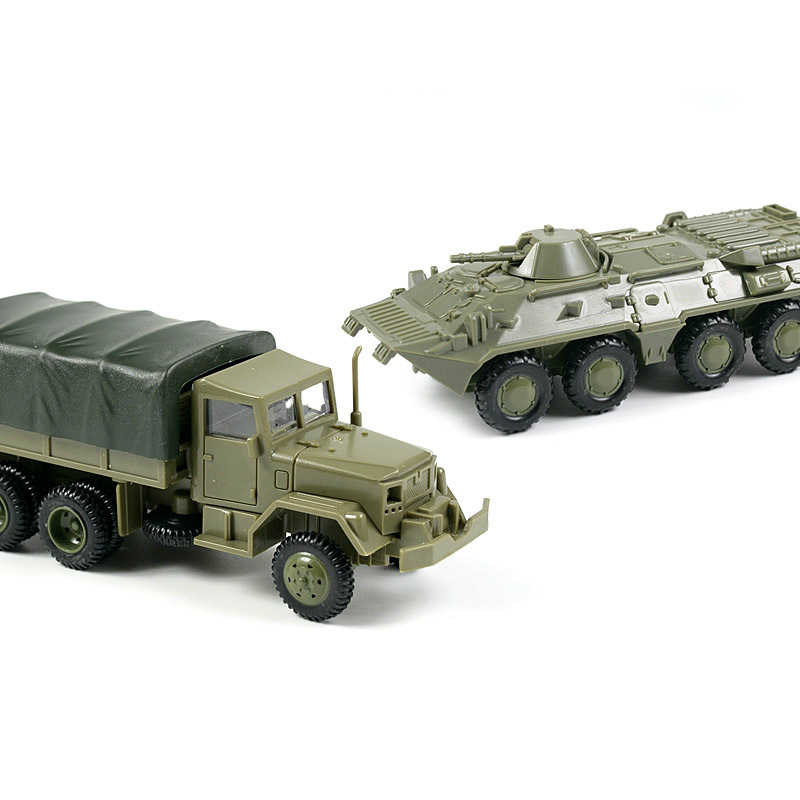 1:72 M35 грузовик, Детские колеса бронированные машины, комплект модели без резины, военный автомобиль, игрушки для детей, мальчик, дети, подарок