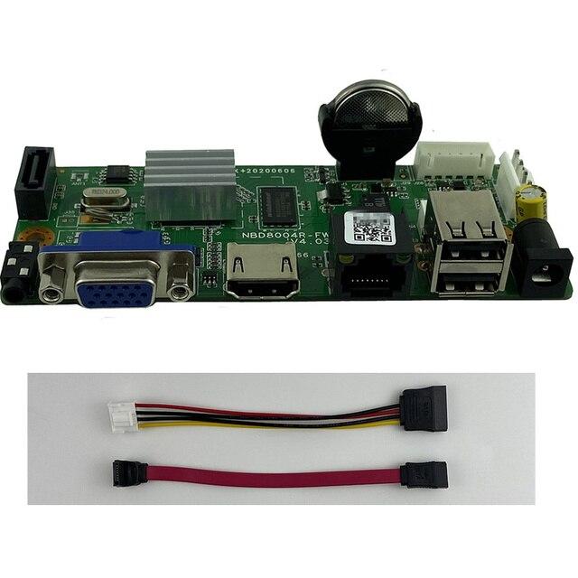 16CH*5MP 1080P H.264/H.265 Network Digital Video Recorder NVR ONVIF P2P Cloud CMS XMEYE Support 1 SATA MAX 8T RTSP Surveillance