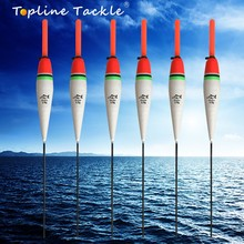 Topline Tackle fishing float night bobbers light carp tackle eva led rock glowing Balsa Wood Night Vision Floater