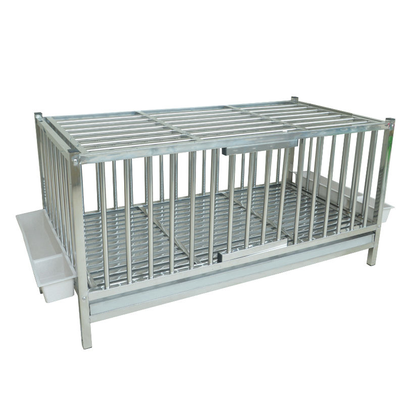 Stainless Steel Chicken Cage Home Large Pet Cage Culture Stainless Steel Cage Chicken Cage Chicken House Goose Cage Duck Cage