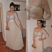 Элегантные кружевные платья для матери невесты с бусинами и