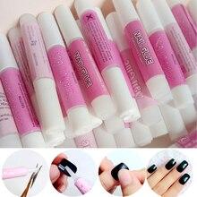 500Pcs 2g Mini Size Acrylic Nail Art Pro GlueFor False Nails Decor Glue Stick Rhinestones Pearls
