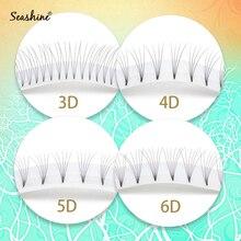 Seashine Premade Fans Short Stem Russian Volume Lash Extension High Quality Heat Bonded Eyelash