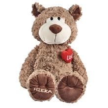Love Bear Plush Filled Soft Comforting Cartoon Doll Birthday Gift Creative Childrens Toys