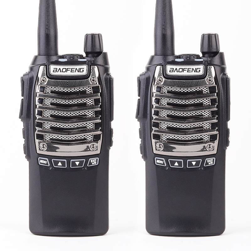 2PCS Baofeng UV-8D Walkie Talkie 8W High Power 128 Channels 400-480 MHZ Portable Boafeng Two Way Radio