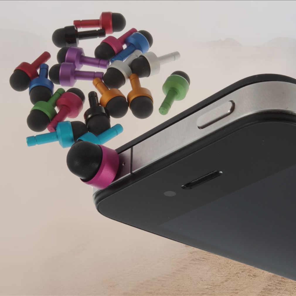 Conector de auriculares de 3,5mm Puerto Anti polvo enchufe para teléfono 4 4S 3GS tapa de tapón accesorios de teléfono de carga de enchufe de polvo