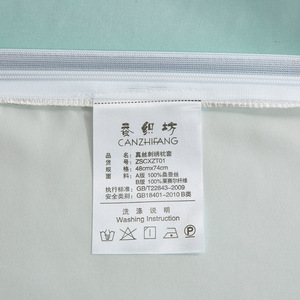 Image 5 - 100% natur 19 momme maulbeerseide kissenbezug Umschlag kissenbezüge kissen fall für gesunde Königin multicolor