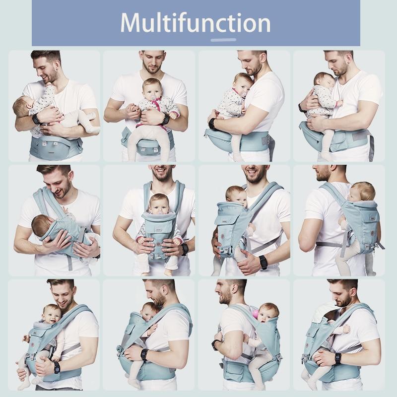 Baby Seat Ergonomic BN Baby Carrier Waist Stool Walkers Hip Seat Belt Kids Adjustable Travel