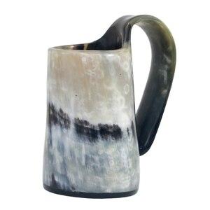 Image 4 - 100% แฮนด์เมดOx Hornแก้ววิสกี้แว่นตาShotถ้วยไวน์ดื่มฮอร์นแก้วไวกิ้งดื่มแก้ว