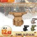 Военная Тактическая Сумка для ног  инструмент  поясная сумка для охоты  поясная сумка для езды на мотоцикле  Мужская Военная поясная сумка ...