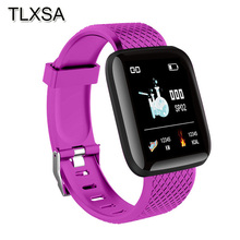 Kids Sports Pedometer Fitness Smart Watch Wristband Blood Pressure Heart Rate Call Message Reminder Children Smartwatch Android