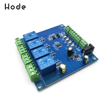 4-channel Modbus relay module 4-bit Modbus RTU switching input output 16 transistor output switch quantity isolation 16di digital input rs485 modbus communication