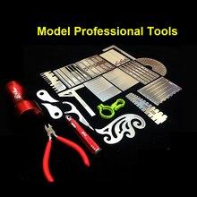 Модель преображения инструменты комбинированная гравированная линия толкатель/позиционирование линейка/крышка пластины/удар/Резка/полированная