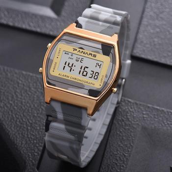 цена на SYNOKE Womens Waterproof Digital Watch Women Watches Alarm LED Display Sport Watch Womens Wristwatches Luxury Brand Watches 8127