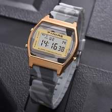 Synoke мужские часы Водонепроницаемый военные будильник светодиодный