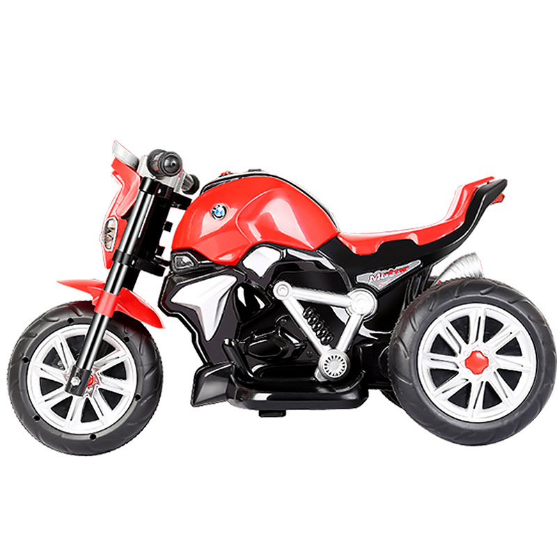 Children's Electric Motorcycle Stable Anti-Falling CHILDREN'S Toy Electric Car 1-4-Year-Old 5199
