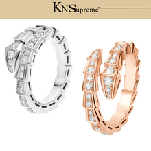 KN Bulgaria ring gift 1:1 Original 100% 925 Sterling Silver Women The same style Jewelry High-end Quality Gift Have logo