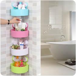 Треугольная присоска ванная вешалка для одежды крючки для стены Ванная комната угловой кронштейн ванная комната полка для хранения