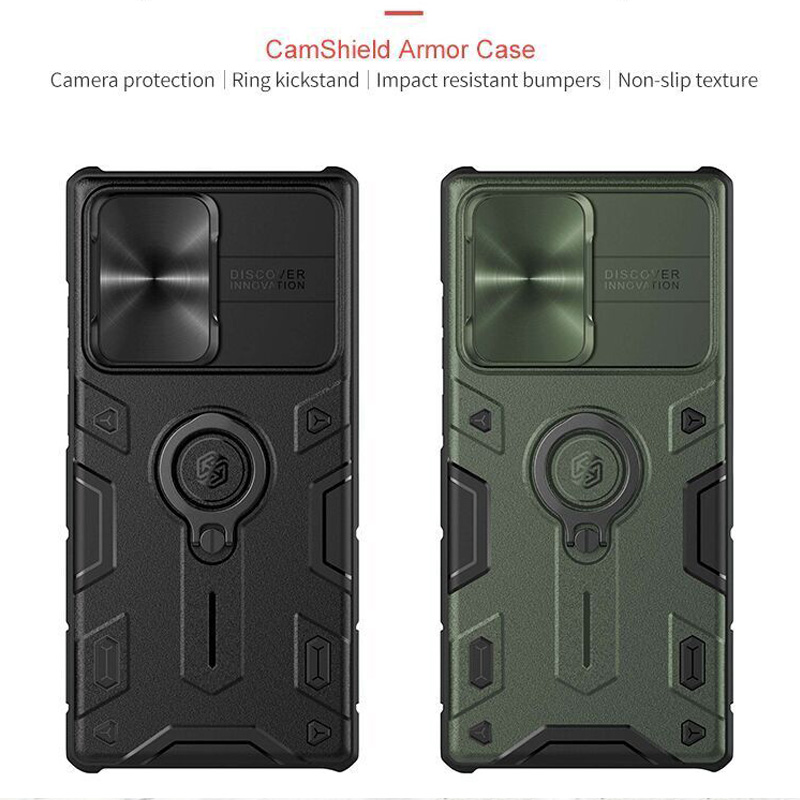 for Samsung Galaxy Note 20 Ultra Case Nillkin CamShield Case Slide Camera Frosted Shield Textured for Samsung Galaxy Note 20 5G 3