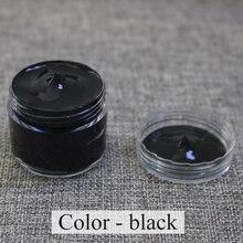 Leather Paint Shoe Cream Coloring for Bag Sofa Car Seat Scratch 30ml Black Dye Repair Restoration Color Change