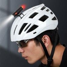Lixadaバイクmtbライトusb充電式サイクリングヘルメットヘッドライト防水自転車ヘッドライト、リアテールライトランプ懐中電灯