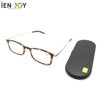 IENJOY Thin Reading Glasses With case Men And Women eyeglasses and presbyopia Glasses Blue Light Glasses