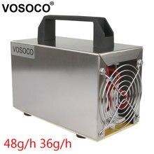 مولد أوزون 48 جرام/ساعة 36 جرام/ساعة 32 جرام/ساعة آلة الأوزون لتنقية الهواء منقي هواء التطهير التعقيم التنظيف الفورمالديهايد 220V
