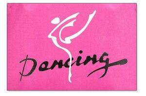 Image 3 - Child Kids Pink ballet bag Backpack Waterproof canvas Ballet Dance Bags Pink Ballerina Ballet Gift
