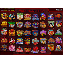 Popular GIGA 40 IN 1 game board slot game machine Casino Gambling Game Machine