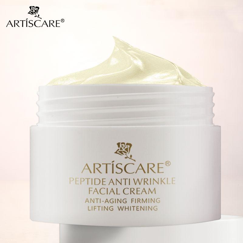 LANBENA crema Facial antiarrugas, péptido, antienvejecimiento, blanqueamiento, reparación de acné, hialurónico, reafirmante, de la senescencia retardante, nutritiva|Suero| - AliExpress
