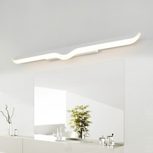 New Arrival 40cm 60cm 80cm 100cm 120cm Modern LED Mirror Wall Light AC90-260V Cosmetic Acrylic lamp Bathroom Lighting
