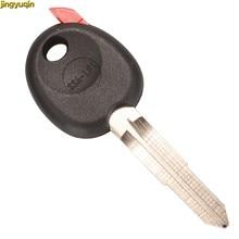 Carcasa de mando a distancia de coche Jingyuqin para Ssangyong 0 botones sin Chip hoja sin cortar