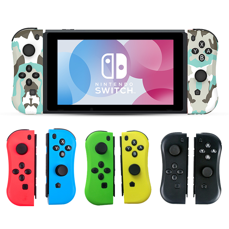 Game Switch Wireless Controller Left Right Bluetooth Gamepad For Nintend Switch NS Joy Game Con Handle Grip For Switch Joy Game