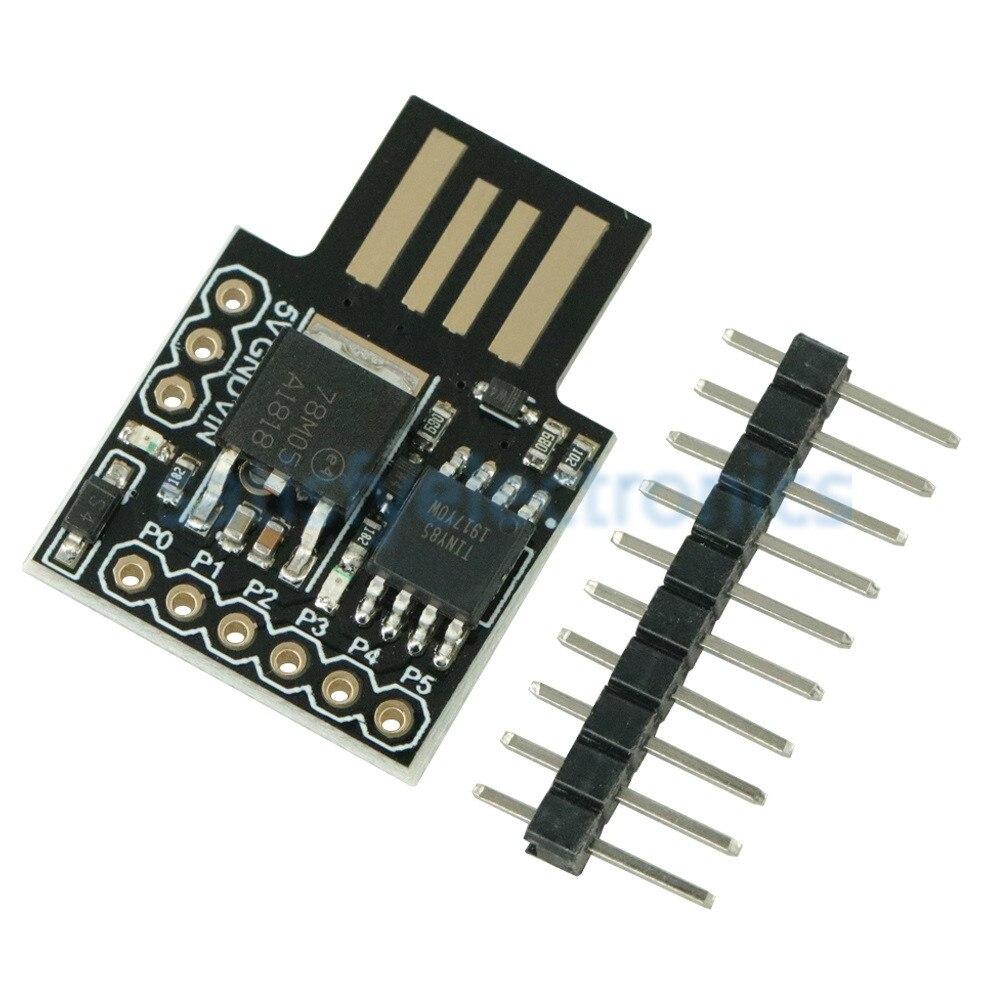 1PCS ATINY85 Digispark Kickstarter Micro Development Board ATTINY85 Module For Arduino IIC I2C USB