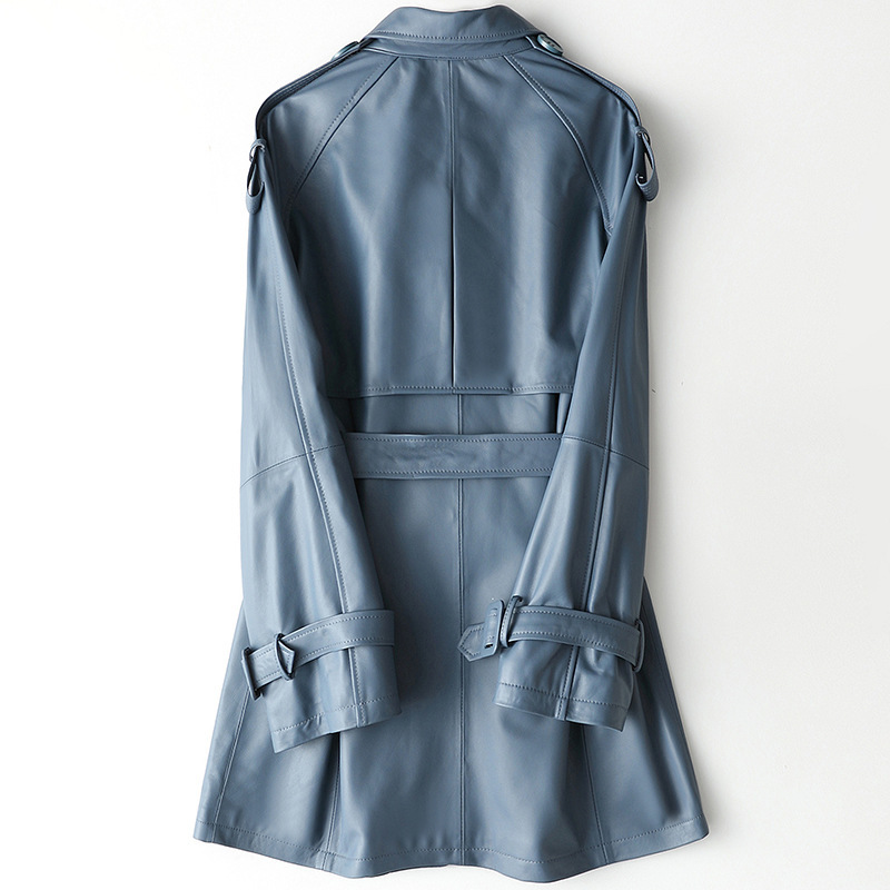 2020 New Real Sheepskin Coat Genuine Leather Jacket Women Spring Autumn Korean Women's Leather Jackets HQ19-CJX19026A