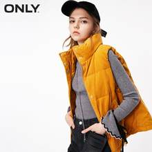 ALLEEN 2019 Herfst Winter New Arrivals Losse Fit Corduroy Down Vest | 118352503(China)