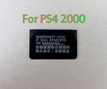 200 Uds. Para Playstation PS4 Dualshock 4 PS4 Slim PS4 2000, etiqueta adhesiva para consola, pegatina de concha