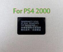 200 pièces pour Playstation PS4 Dualshock 4 PS4 Slim PS4 2000 console étiquette autocollant boîtier coque autocollant étiquette joints