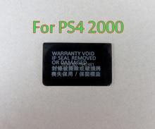 200PCS Für Playstation PS4 Dualshock 4 PS4 Dünne PS4 2000 konsole Label Aufkleber Gehäuse Shell Aufkleber Label Dichtungen