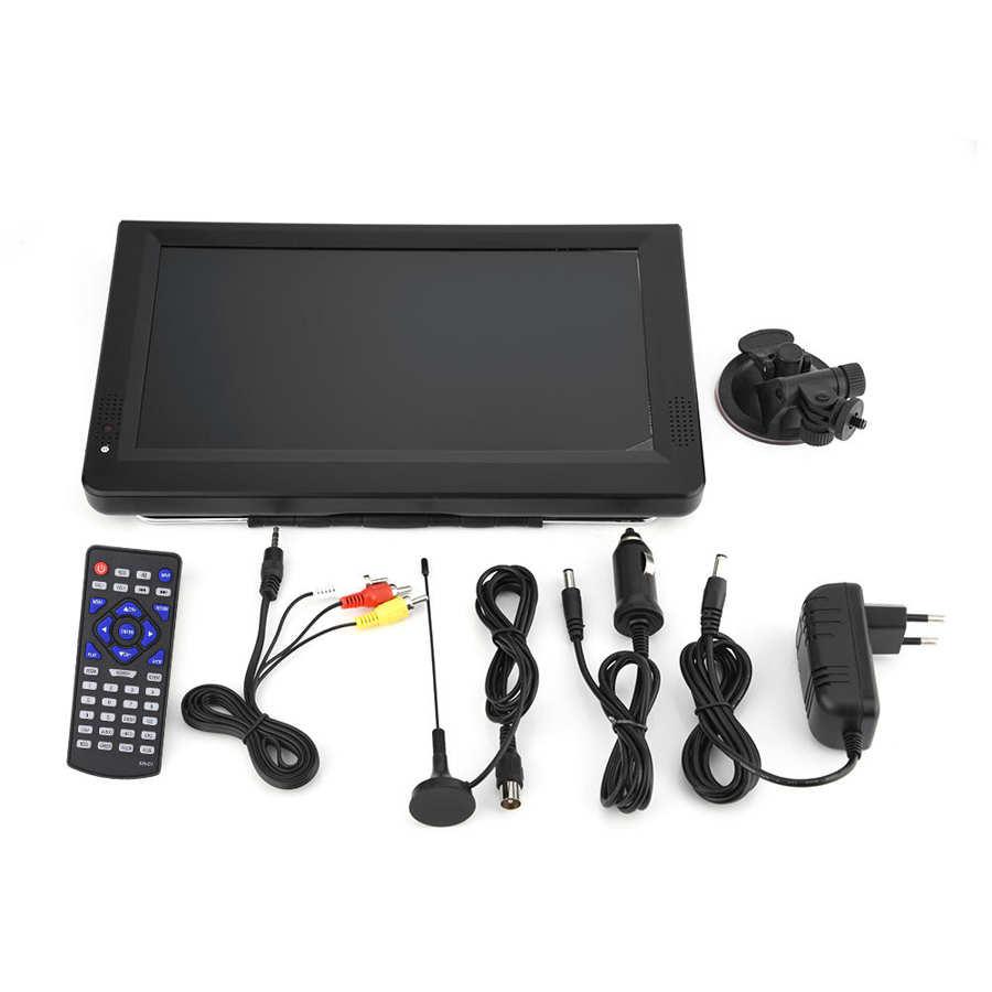LEADSTAR 11.6in ISDB-T USB Portable Digital TV Television HD Video Player EU  tv portatil digital Portable Digital Television