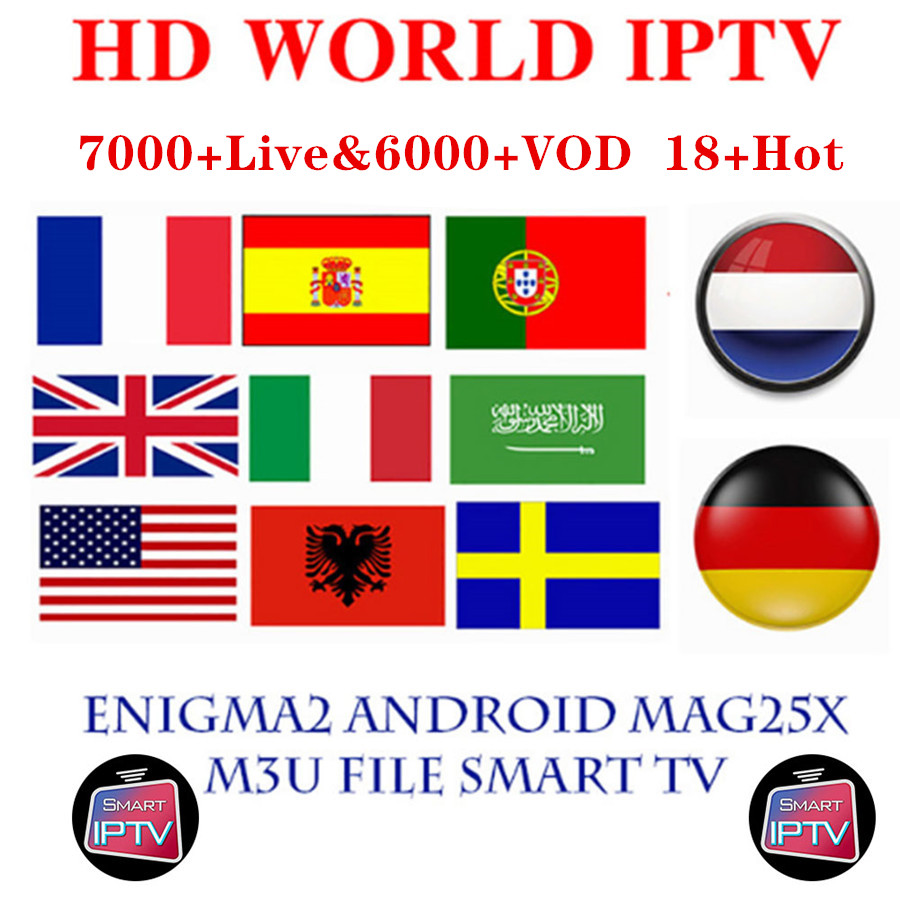 Best Stable IPTV Spain M3U Francais IPTV Portugal Subscription 1 Year IPTV M3U France Free VOD For Smart TV Android TV Box
