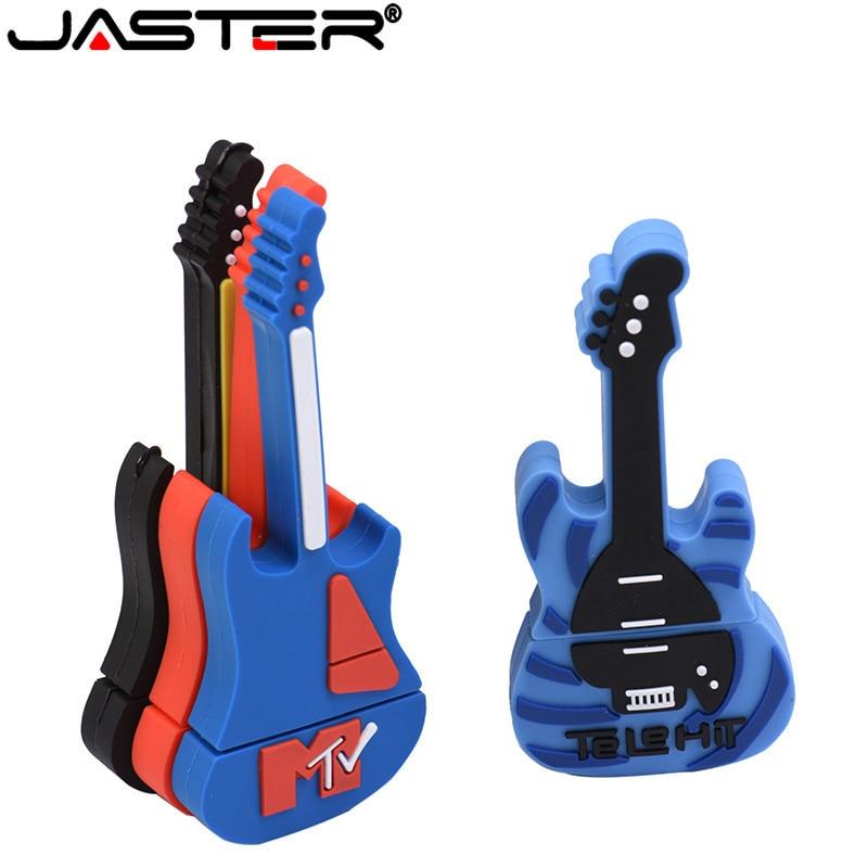 JASTER 64GB USB Stick 9model New Type Musical Instrument USB Flash Drive Pen Drive 4GB 8GB 16GB 32GB Usb2.0 Memory Stick