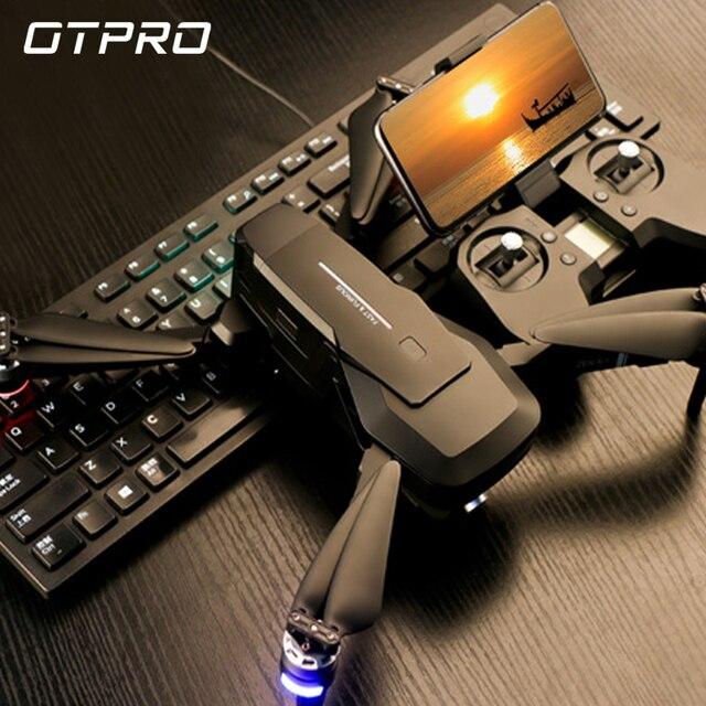 OTPRO GPS 5G WiFi 1080P FPV עם 4K UHD מצלמה 3 ציר Gimbal כדור פנורמה RC drone Quadcopter RTF DRON צעצועי מתנה VS H117s