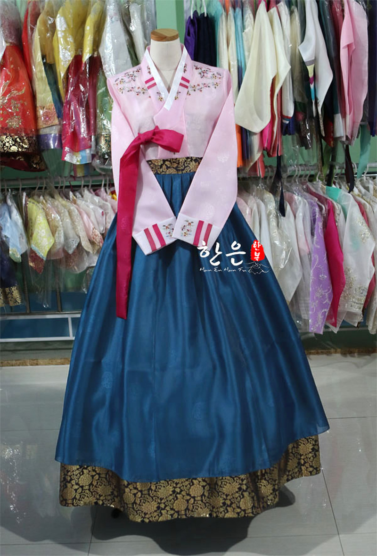 South Korea Imported Fabrics / South Korea's Latest Improved Hanbok / Stage Costumes