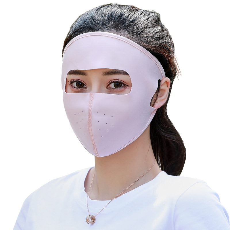 Sun-resistant Beach Mask Full Face Facemask Face Mask For Bicycle E-Bike Anti-Dust Masked Face Mask For Men And Women