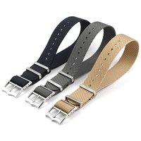 Hohe Qualität Nylon Nato armband Premium Sicherheitsgurt Armband 20mm 22m Military Armband für Tudor Uhr Ersatz